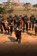 Человек-лучник (AoW III)-геймплей