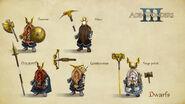 AoW 3. Dwarves. Art