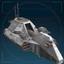Боец Авангарда, сторожевой корабль-иконка