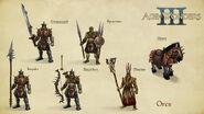 AoW 3. Orcs. Art