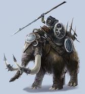 AoW 3. Mammoth. Art