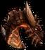 Огненный дракон-иконка