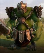 Орк, рождённый для войны