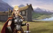 Валери в родной деревне