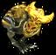Золотая виверна-иконка
