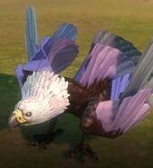Легкокрылая птица