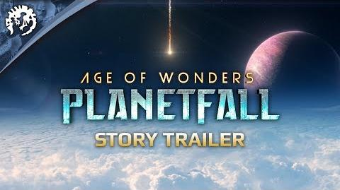 Age of Wonders Planetfall Story and Pre-Order Trailer PEGI