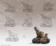 Танк-эскаватор-концепт-арт