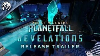 Age of Wonders Planetfall REVELATIONS - Release Trailer
