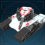 Боец Авангарда, лазерный танк-иконка