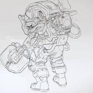 Инженер-концепт-арт