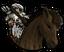 Верховой лучник-человек-иконка