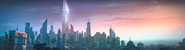 Авангард-меню города
