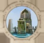 Затопленный город-иконка