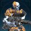 Сборщик, разящий снайпер-иконка