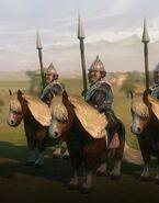 Полурослик, всадник на пони (AoW III)