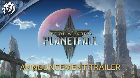 Age of Wonders Planetfall - Announcement trailer