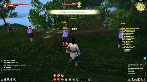 Age of Wulin (CN) CBT 1 - Basic Shaolin combat footage