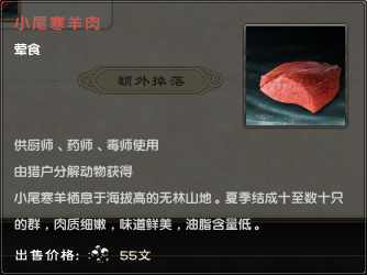 Small-tailed Han Meat