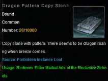 Dragon Pattern opy stone