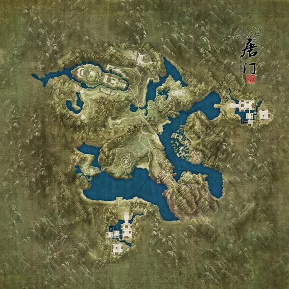 Tangmen Map