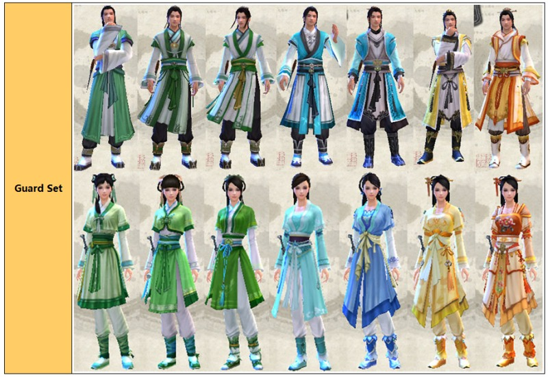 Age of wushu wudang learn taiji sword