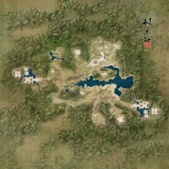 Wanderer's Valley Map