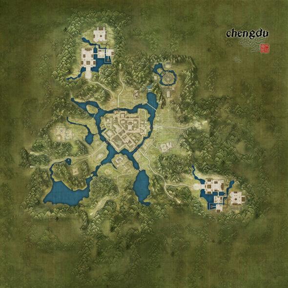 Chengdu Map