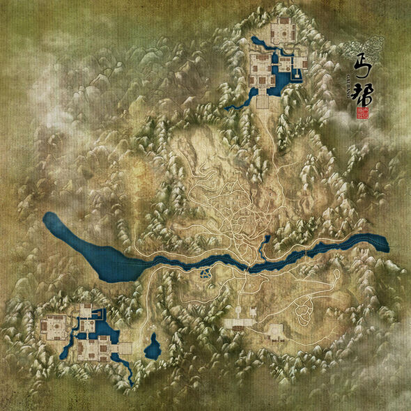 Beggars' Sect Map