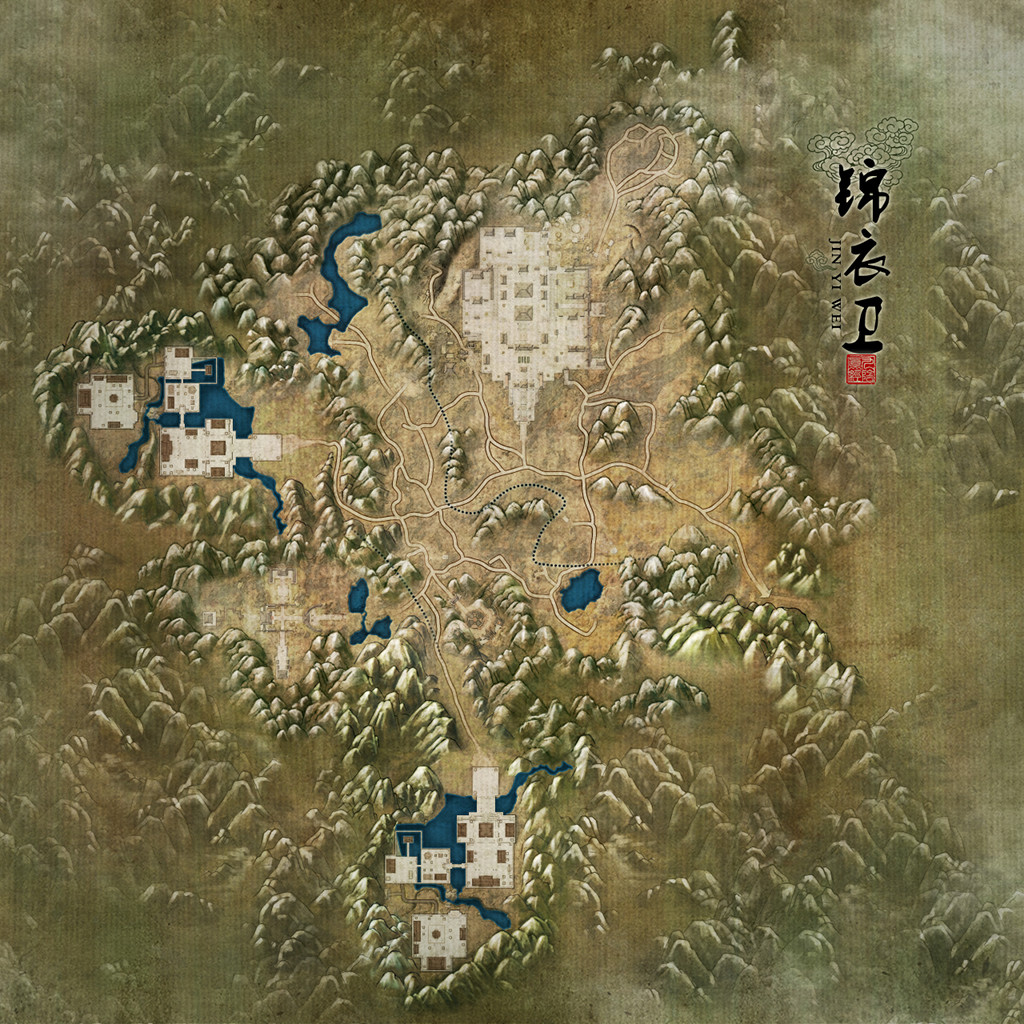 Image Royal Guards Map Jpg Age Of Wushu Wiki Fandom Powered By