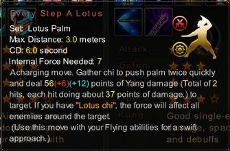 (Lotus Palm) Every Step A Lotus (Description)