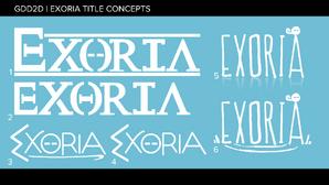 Exoria Title Concepts