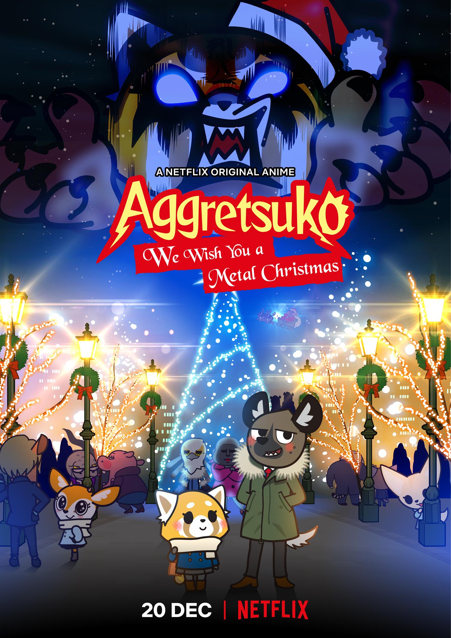 Aggretsuko Christmas.We Wish You A Metal Christmas Aggretsuko Wiki Fandom