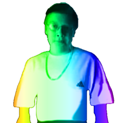 Another Rainbow Leopold Slikk Made by Joey Slikk