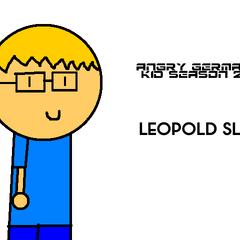 Leopold in the poster for GarrettComedian's AGK season 2.