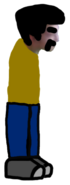 APK's Dad Sprite (Armless)