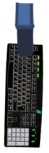 Leopold Slikk Sprite Arm Holding Power KeyboardHD