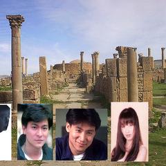 Leopold, Andy Lau, Jacky, and Priscilla in Algeria in Brian Chiem's AGK series