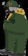 Barry Slikk SpriteHD General NoArms Hat