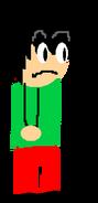 Bart standing