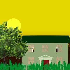 Leopold Slikk's house at morning from YouTubeWare