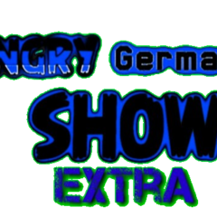 Logo for The Angry German Kid Show Extra
