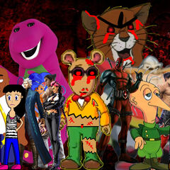The Villains from Atarster's AGK Series 2 (Some characters are no longer evil)