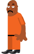 LeVar Brown (Jail Uniform)
