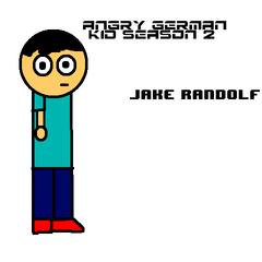 Jake in the poster for GarrettComedian's AGK series for season 2