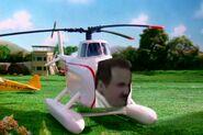 Harold slikk the helicopter