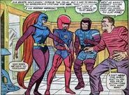 Frightful Four (Earth-616) Original team from Fantastic Four vol 1 36
