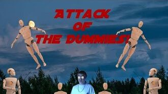 The Angry German Kid Episode 22 Attack of the Dummies!
