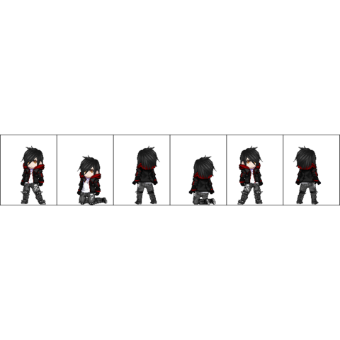 His sprite on his own AGK series, later used on GeneBernardinoLawl's AGK series as collab.