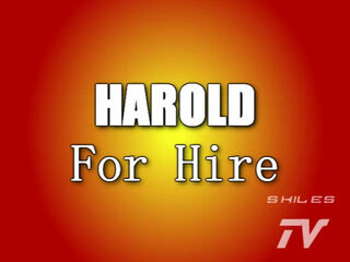 Harold For Hire Title